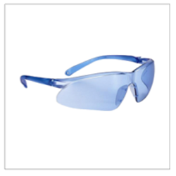 Picture of Precision Antifog Antiscratch Safety Glasses 546 (Clear Lenses / White Frame)