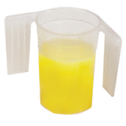 Picture of Beaker Feeder Cup with Easy Grip Handles, graduated , 250ml