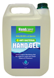 Picture of Hand Care Anti Bacterial Hand Gel (5 Litre Refill)
