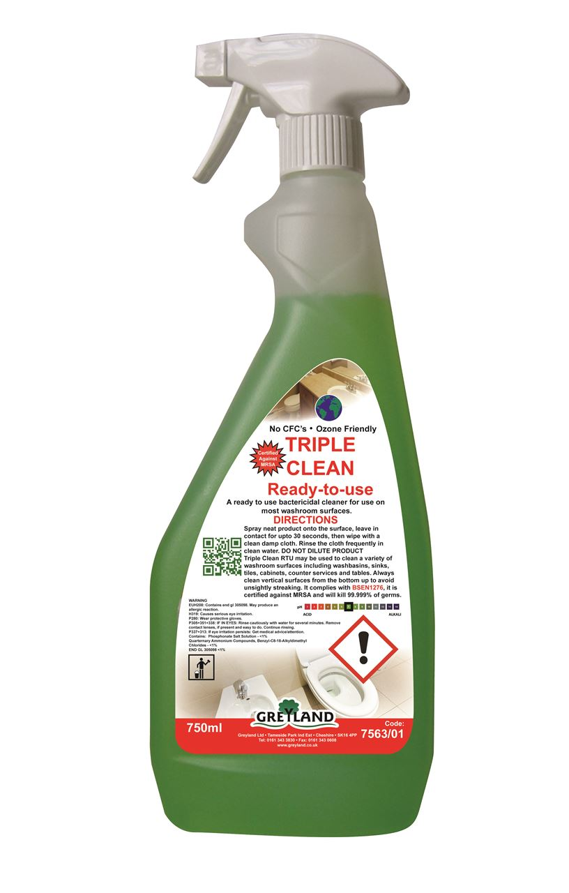 Picture for category GREYLAND Triple Clean Washroom Cleaner