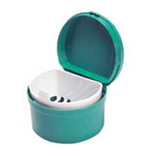Picture for category Denture cup with strainer & lid