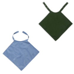 Picture of Napkin Style Clothing Protector - BLUE