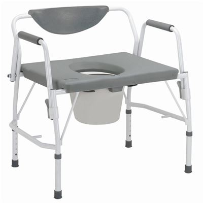 Picture for category Deluxe Bariatric Drop-Arm Commode