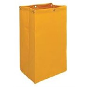 Picture for category Yellow PVC Bag for Janitors Trolley