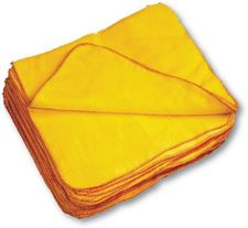 Picture of Yellow Dusters (40x34cm)  (pack of 10)