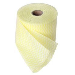 Picture of Wiping Cloths On a Roll YELLOW (Pack of 2)