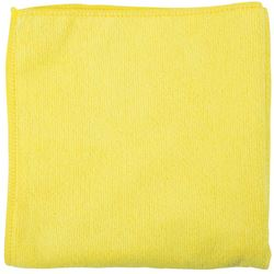 Picture of Microfibre Cleaning Cloth YELLOW- (10 pack)