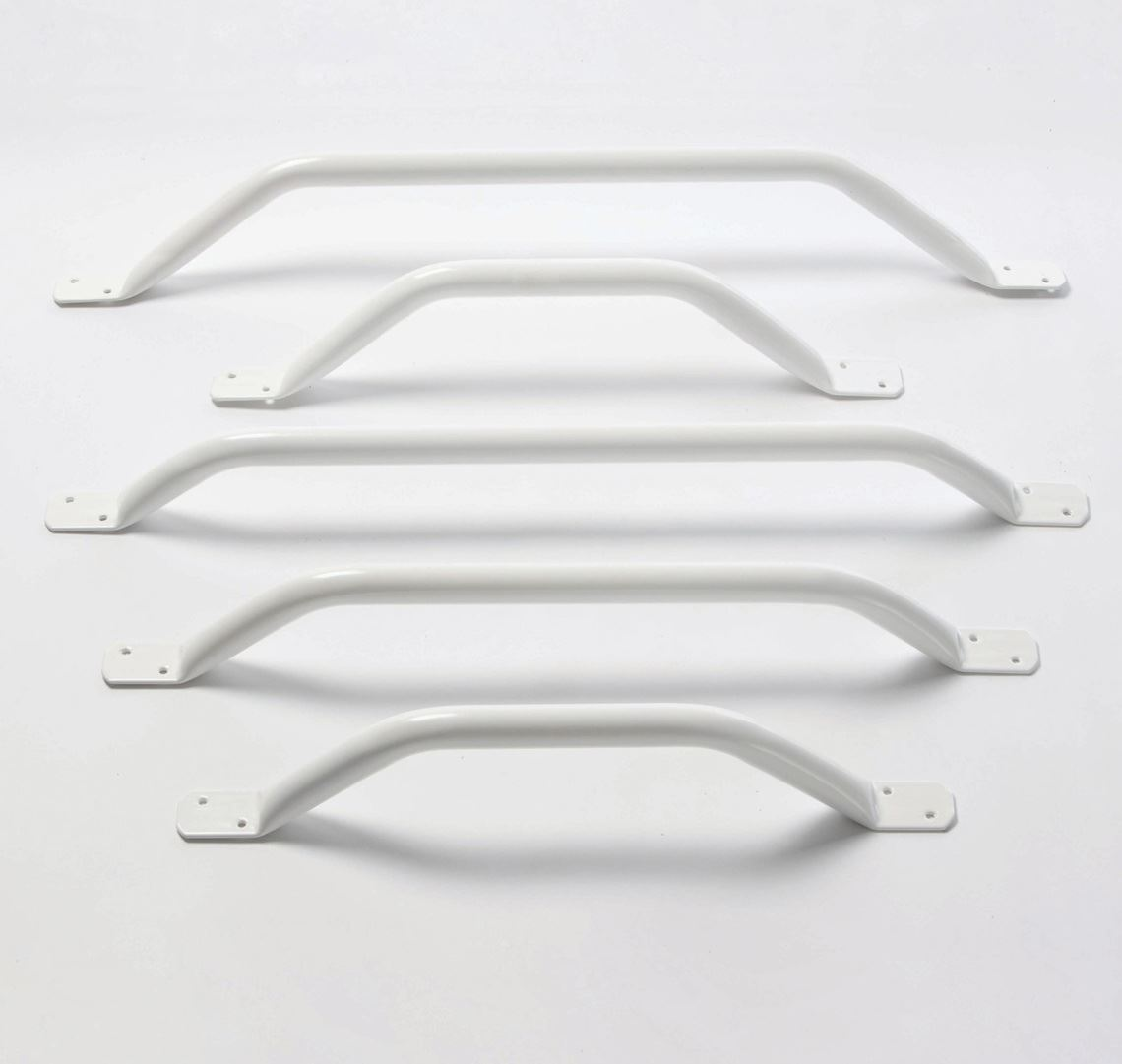 "Picture of Flat End Grab Rails 18"" 45° Angled"