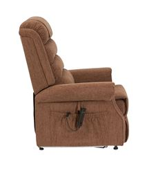 Picture of Serena Waterfall Back Riser Recliner - Mocha