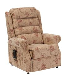 Picture of Serena Waterfall Back Riser Recliner - Floral