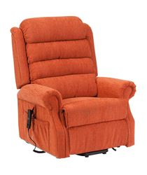 Picture of Serena Deluxe Riser Recliner - Cinnamon