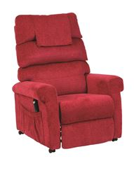 Picture of Star Riser Recliner - Red