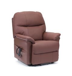 Picture of Lars Riser Recliner - Burgundy