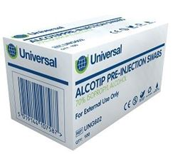 Picture of Pre-injection Antiseptic Wipes (100)