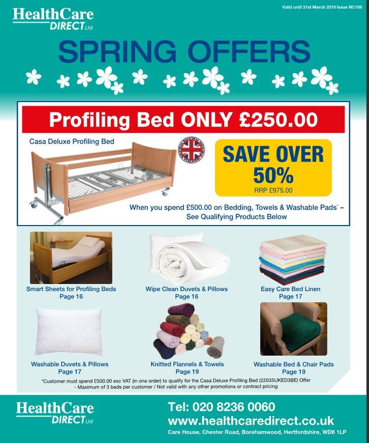 HealthCare Direct Ltd - Spring 2019 Offers