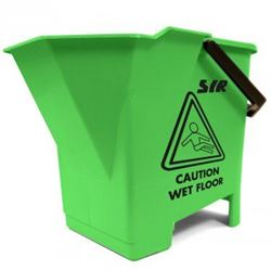 Picture of Mop Bucket & Wringer (8 Litres) GREEN