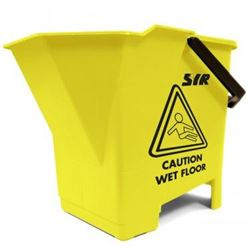Picture of Mop Bucket & Wringer (8 Litres) YELLOW