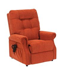 Picture of Serena Waterfall Back Riser Recliner - Cinnamon