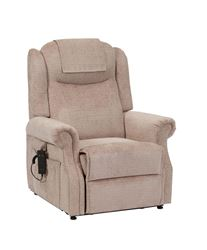 Picture of Serena Waterfall Back Riser Recliner - Oatmeal