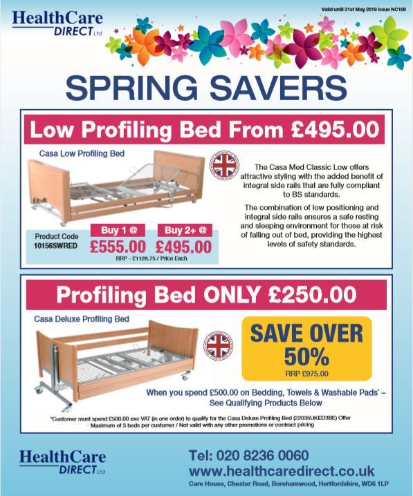 HealthCare Direct Ltd - Spring Savers