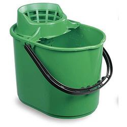 Picture of Economy Mop Bucket & Wringer (15 Litres) GREEN