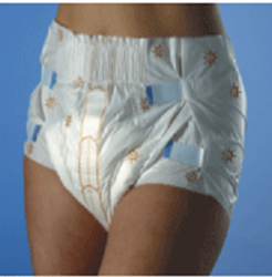 Picture of Suprem-Fit Medium Diapers (26 x 4)  [LSFT7211]