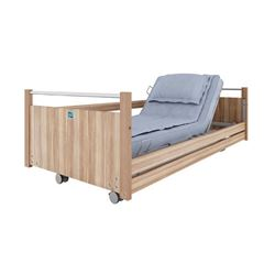 Picture of HEBDEN Bed Model 01 - Fingerkit and Side Rails (Light Oak)