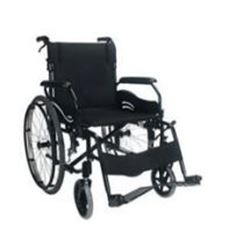 "Picture of S1 Steel Wheelchair 45cm (18"") Transit"