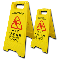 Picture of Wet Floor Sign.