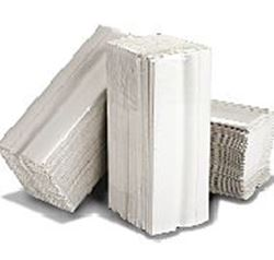 Picture of Flushable 2ply WHITE C-Fold  Hand Towel (96 Sheets x 24 Sleeves) -- [FHT2]