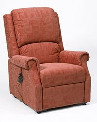Picture of Chicago Riser Recliner - Terracotta