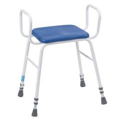Picture of Deluxe Perching/Kitchen/Showerstools Adjustable Height & Tubular Arms