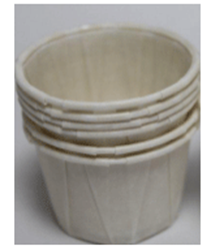 Picture of Waxed Paper Medicine Pot - 28ml (250)