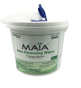 Picture for category Moist Cleansing Wipes by MAIA in bucket