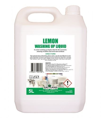 Picture of GREYLAND Lemon Washing-up Liquid (4 x 5 Litre)