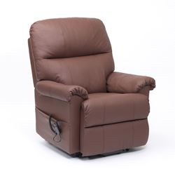 Picture of Borg Dual Motor Recliner - Burgundy