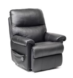 Picture of Borg Dual Motor Recliner - Black