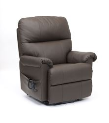 Picture of Borg Dual Motor Recliner - Brown