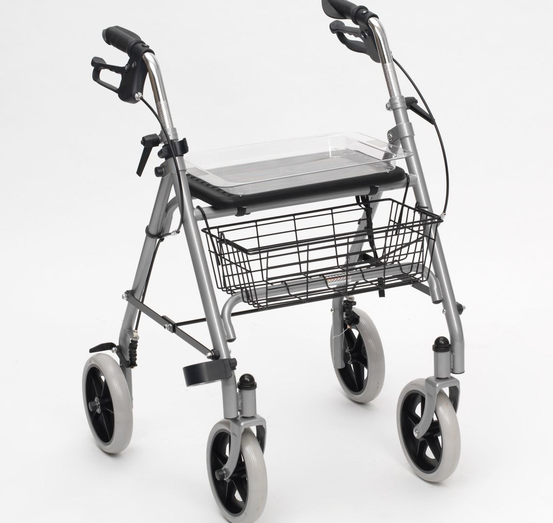 Picture for category SR8 Silver Steel Rollator