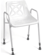 Picture of Foxton Stationary Shower Chair - Fixed Height with Rear Handle