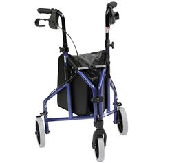Picture of Ultra Lightweight Tri-Walker with Vinyl Bag - Blue