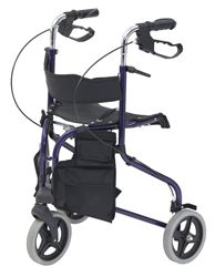 Picture of Tri-Walker with Seat - Blue