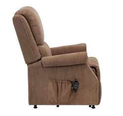 Picture of Indiana Petite Riser Recliner - Mushroom