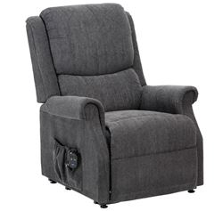 Picture of Indiana Petite Riser Recliner - Charcoal
