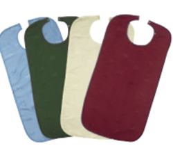 Picture of Adult Aprons -Ivyleaf design (45 x 90cm) - MAROON - Popper Fastening