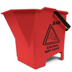 Picture of Mop Bucket & Wringer (8 Litres) RED