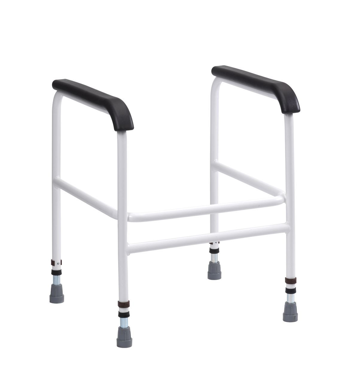 Picture of Bariatric Toilet Frame with PU Arms - Floor Fixing Feet