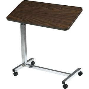 Picture for category Deluxe Tilting Top Overbed Table (Walnut)