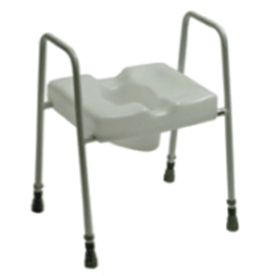 Picture of Spalding Combi Scandia Toilet Frame with Toilet Seat - Freestanding