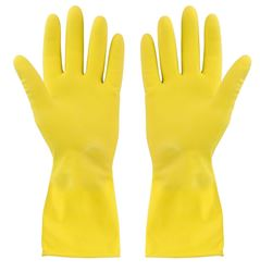 Picture of HOUSEHOLD Gloves Yellow - Medium